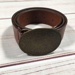 OLD NAVY Genuine Leather Brown Belt